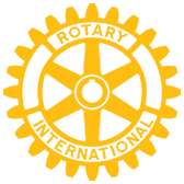 charity sponsor logo - rotary international