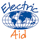 charity sponsor logo - electric aid